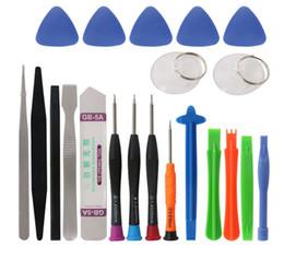 Spudger pry kit online-Professionelle 21 in 1 Handy Reparatur Werkzeuge Kit Spudger Pry Öffnungswerkzeug Schraubendreher Set für iPhone X 8 7 6 S 6 Plus