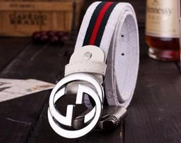 Wholesale Fancy Belts - Men's belts fashion 100% cowhide genuine leather for Male Straps pin Buckles Waistband fancy vintage jeans cintos freeshipping