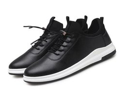 Wholesale outlet point - Spring and autumn new men's casual shoes low to help Korean students white shoes tide shoes factory outlets