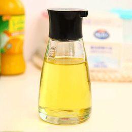 Wholesale Glass Sauce Bottles - 170ML Storage Bottle for Oil Soy Sauce Vinegar Black Green Red White Oil Storage Bottles Jars Kitchen Tools New Arrival