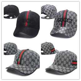 Верхние шляпы для онлайн-Лучшие продажи роскошный дизайнер Cap Snapback бейсболки досуг регулируемые Snapbacks шляпы Casquette открытый гольф спорт папа шляпа