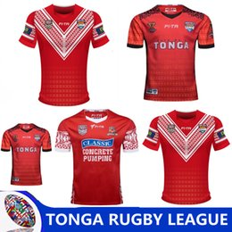 taza de prueba Rebajas TONGA RUGBY LEAGUE WORLD CUP 2017 HOME JERSEY 17 18 Nueva Zelanda TONGA rugby Jerseys TONGA RUGBY LEAGUE 2018 PACIFIC TEST JERSEY talla S-3XL