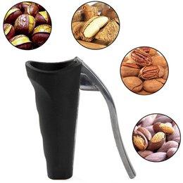 bombas Desconto Eco-friendly Abrir Walnut Nutcracker pelados Walnut Shell Alicates Nut Cracker funil geada aperto Tools Alicate Grampo de cozinha