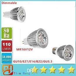 Dimmable a mené le projecteur 15W GU10 / E27 / E14 / B22 / GU5.3 85V-265V MR16 12V économiseur d'énergie de lampe mené ? partir de fabricateur