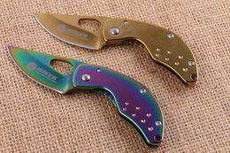 Boker F87 Cuchillos plegables abiertos rápidos que acampan al aire libre Caza que acampa de regalo Cuchillo de regalo de Navidad cuchillo para hombre 1 unids freeshipping desde fabricantes