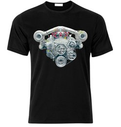 Gt turbo online-V8 HEMI TWIN TURBO MOTOR CAMARO MUSTANG CHALLENGER SHELBY GT Camiseta talla S-XXL Camiseta de moda unisex Donald Trump