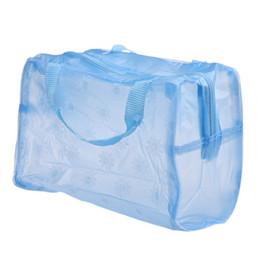 Wholesale Up Environmental - Wholesale New Fashion Women Cosmetic Bag Environmental Protection PVC Transparent Organizer CaseMakeup Bag Portable Make up