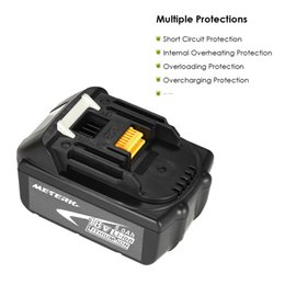Wholesale 18v Tool Battery - Meterk BL1850 18V 4.0Ah  5.0Ah Power Tools Battery High Capacity Recharcheable Lithium replacement Battery Pack