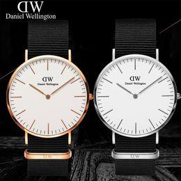 Wholesale men simple style watch - Wellington Simple Style Men's women Quartz stock watch reloj hombre fashion Watch Men Wristwatch relogio masculino Fashion Casual Watches