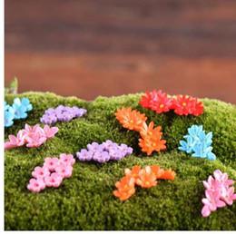 pc miniatura Sconti 10 Pz / set Fata Garden Home Case Decorazione Mini Craft Micro Landscaping Decor Accessori fai da te Colore casuale Fiore in miniatura