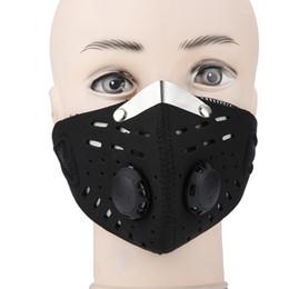 Máscaras faciais de carbono ativado on-line-Super Anti Máscara de Poeira Esportes Quente Half-face Proteção Contra Carvão Ativado Máscara Filtro de Face Ciclismo Da Bicicleta Da Bicicleta Da Motocicleta