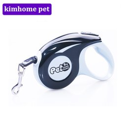 Wholesale Dog Leash Retractable 3m - Pet Leash Retractable 3M 5M Dogs Leash Strong Firm Dogs Cats Lead Rope Flexible Sports Collars for Tactic Golden Chihuahua MPG04