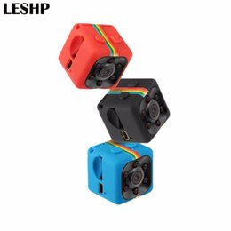 Wholesale Video Card Support - SQ11 Mini Camera 1080P HD 360 degree Camcorder Lithium Battery Voice Video Recorder Sports DV Camera Support TF Card TV OUT