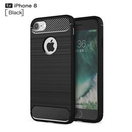 Canada Coques en fibre de carbone anti-dérapantes pour iPhone 8 4.7