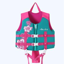 Natação ajuda crianças on-line-Crianças Crianças Natação Coletes salva-vidas de Flutuação para o Treinamento de Socorro de Verão Ao Ar Livre Boating Surf Esportes Aquáticos