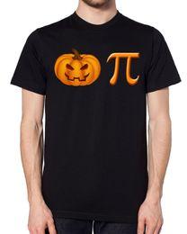 Argentina Pumpkin Pie Black Halloween T-shirt Maths Mathematics 3.14 Cake Teacher Science Cartoon camiseta hombre Unisex Nueva Moda camiseta supplier teacher cake Suministro
