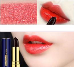 marca de labios Rebajas Moda NOVO 10 bálsamo labial hidratante hidratante lápiz labial lápiz labial a prueba de agua popular no pega taza sin marcar el lápiz labial negro