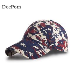 d64c50866f9 Deepom Camouflage Baseball Cap Men Women Outdoor Sports Snapback Hats For  Men Unisex Gorras Dad Hat Army Cap Bone Male