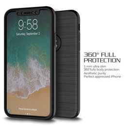 Wholesale Iphone Front Glass Gold - 360 Degree Full Covered Phone Shell 3 in 1 Tempered Glass + Front + Back Cover Case for iPhone X 8 7 S8 S8Plus Note8
