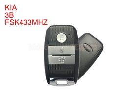Wholesale kia smart key remote - Best quality auto car keys for KIA K5-sportsge 2014FSK433MHz-ID46 KIA smart remote key 3 button-FCCID-95440-3W600(after-market)moq is 2pcs