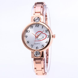 relógio de pulseira chapeada Desconto Velho Banhado A Pulseira de Círculos de Aço Inoxidável de Volta Shinning Mulheres Pulseira Relógios Moda Relógio de Pulso relogi