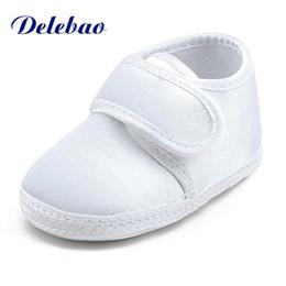 weiße taufschuhe Rabatt Reinweiß Die Taufe Der Schuhe Heiligen Winkel Weiche Sohle Baumwolle Babyschuhe Für 0-15 Monate Neugeborenen Taufe
