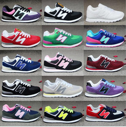 Wholesale New Generation Sports - New Four generations admission men and women balanced casual sports shoes lovers shoes running shoes size 36-44