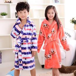 Wholesale Carol Red - 2016 new fashion children bathrobes 6-12years children bathrobes carol fleece winter robes