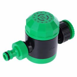 Temporizador de riego de la planta online-2 horas automático mecánico de riego por agua temporizador Interruptor de riego del jardín manguera jardín planta