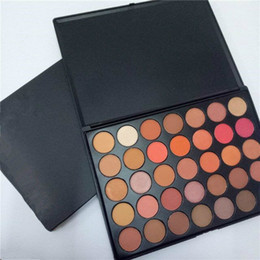 palette nature Coupons - Eyeshadow Palette 35 Colors Makeup 35O2 Second Nature Eye Shadow Waterproof Natural New DHL Free Shipping