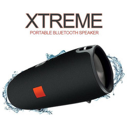 Wholesale Xtreme Bluetooth - bluetooth speaker mini Xtreme 2000mAh outdoor portable subwoofer wireless stereo speakers with straps MP3 music player CHARGE 3