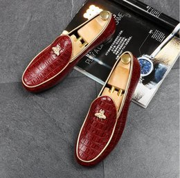 Wholesale wedge spikes - 2018 New fashionCasual shoes mens luxury brand shoes Doug shoes loafers spiked loafers men 32