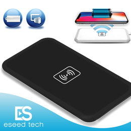 Wholesale Galaxy Note Power Bank - MC-02A Qi Standard Universal Wireless Charger Pad Power Bank Portable Transmitter Accessary For Samsung Galaxy S6 S7 Edge Iphone 8 Note 8