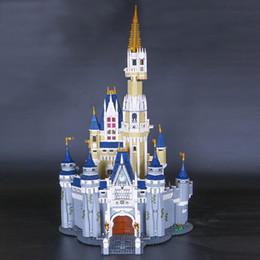 Wholesale 16008 Creator Cinderella Princess Castle City Modelo Building Block Niños Juguete de regalo