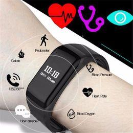 2019 недорогой слот телефон F1 смарт-группа сердечного ритма Monitore смарт браслет Браслет здоровья наручные часы вызова будильник вибрирует для xiaomi iPhone телефон