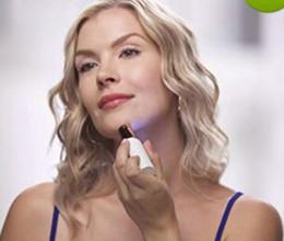 Canada Mini rasoir électrique rouge à lèvres forme visage épilant visage visage épilation femmes Mini portable épilateur rasoir avec boîte supplier electric facial hair remover Offre