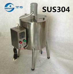 15L Double Jacket Mixing Tank con Calefacción para Lipstick 15 litros Lipstick Heating Mixing Tank desde fabricantes