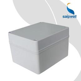 2019 boite imperméable abs en plastique boîtier de jonction de boîtier en plastique ABS étanche 170 * 140 * 110mm SP-02-171411 promotion boite imperméable abs en plastique