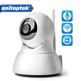 Wholesale Camera Wifi - 720P IP WIFI Camera Wireless Security CCTV PTZ IR 10M Night Vision Audio Recording Surveillance Network Baby Monitor APP iCSee