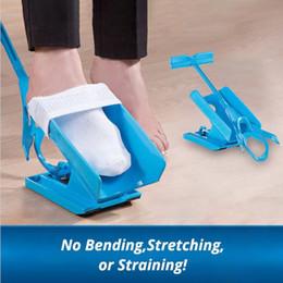 Sock Aid Kit Sock Helper Slider Mode rapide et facile à mettre sur les chaussettes Facile sur Easy Off Slider Slider Drop expédition avec la boîte au détail ? partir de fabricateur
