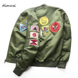 2019 armee grüne motorradjacke DIMUSI Bomberjacke Mens Ma-1 Fliegerjacke Pilot Male Ma1 Army Green Motorrad und Mäntel 6XL, TA039