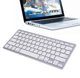 keyboard ios android Promo Codes - Ultra-slim Wireless Bluetooth 3.0 Keyboard For Android for MAC iPad 9.7 2018 IOS Apple Windows for OS System