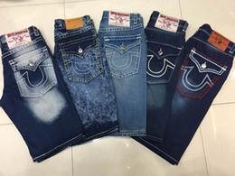 Wholesale Rock Jeans - 2018 Famous brand Robin short jeans men tide summer designer robin jeans for male true biker fashion short robin rock revival jeans