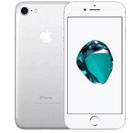 """telefone original do teclado árabe Desconto Remodelado Original Apple iPhone 7 Celular Desbloqueado i7 Quad Core 4.7 """"Impressões Digitais IOS10 2GB RAM 32 / 128GB ROM 4G LTE"""