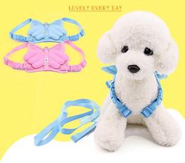 Fabrika Toptan köpek giyim Sevimli Melek Kanatları Pet Göğüs Kemeri Köpek tasma köpek tasma Kedi zinciri Tavşan halat nereden