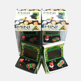 Wholesale Free Video Arcade - 2018 Hot Selling Mini Retro Handheld Pocket Arcade Video Games Console Joystick Player Gift Package DHL Free Shipping