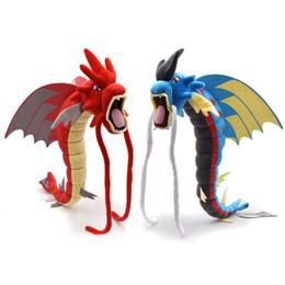 20 Polegada Dragão Brinquedos De Pelúcia Mega Evolução Vermelho Brilhante Gyarados Dragão Azul Brinquedo Jogo Pikachu Dos Desenhos Animados Coleção De Pelúcia Boneca Animal de Fornecedores de jogos de dragão vermelho