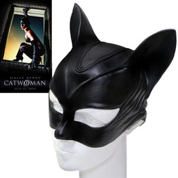 Canada Catwoman Selina Kyle Masque En Latex Cosplay Masque Props Latex Halloween Lady Offre