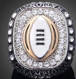 Campeonato do estado de ohio on-line-Nova chegada homens moda jóias 2015 Ohio State Buckeyes liga anel de fãs de esportes coleção lembranças de presente de Natal