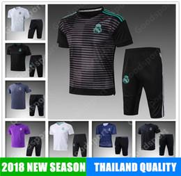 2019 melhor roupa KITS Real Madrid Formação KITS trajes de Futebol MODACOS LUCAS MORATA BALE KROOS ISCO BENZEMA Ronaldo camisas de Futebol melhor melhor roupa barato